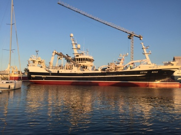 "Just a ""small"" fishing vessel in Skagen,Dk"